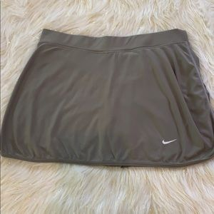 Nike tennis or running skirt w/ compression shorts